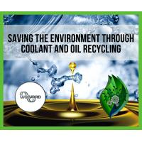 نظام إعادة تدوير زيت القطع CNC يوفر البيئة من خلال إعادة تدوير الزيت.