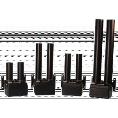 مجموعة من أحجام مختلفة من مجففات الهواء