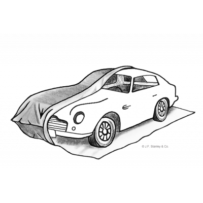 مرآب للسيارات المؤقت للسيارات الفاخرة والتخزين على المدى الطويل.