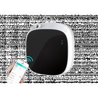 آلة رائحة الحمام المثبتة على الحائط مع الهاتف.