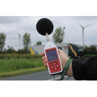 البيئي والمهني قياس الضوضاء في استخدام