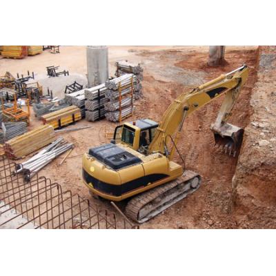مواقع البناء تسبب تلوث الضوضاء البيئة. استخدم مقياس صوت Cirrus لتقييم مستويات الضوضاء.