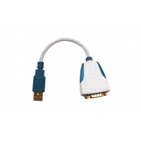 عرض من الجزء الخلفي من RS232 واجهة USB