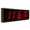 INOVA متزامنة الجانب ساعة الحائط الرقمية