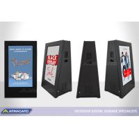 DigiStopper المحمولة لافتات رقمية على المعرض في ISE 2020.