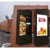 مطاعم الخدمة السريعة لافتات الرقمية في الهواء الطلق في صورة الموقعي