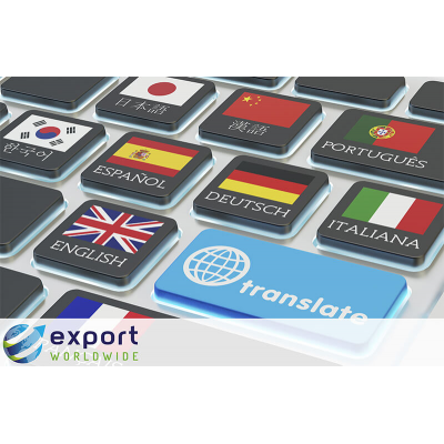 تصدير في جميع أنحاء العالم الترجمة الآلية مقابل الترجمة البشرية