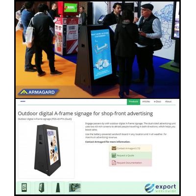 Armagard DigiStopper على ExportWorldwide وفي ISE برشلونة.
