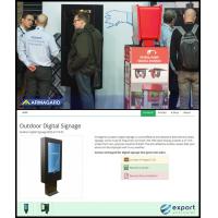 Armagard الطوطم الإشارات الرقمية في المعرض التجاري الافتراضي وفي ISE.