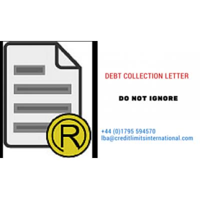 رسالة  تحصيل الديون