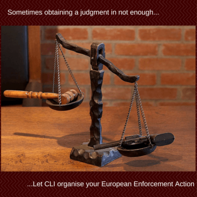 تنفيذ حكم الأوروبية من خلال حدود الائتمان الدولية المحدودة