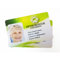 بطاقة الشركة المصنعة بطاقة الهوية