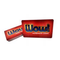 الشركة المصنعة بطاقة عضوية بطاقة