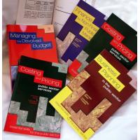 خمسة كتب إدارة مالية للقطاع العام