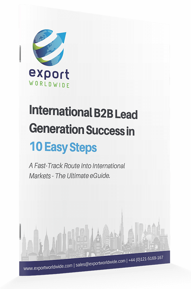 Free whitepaper: 10 Steps to International B2B Lead Generation Success