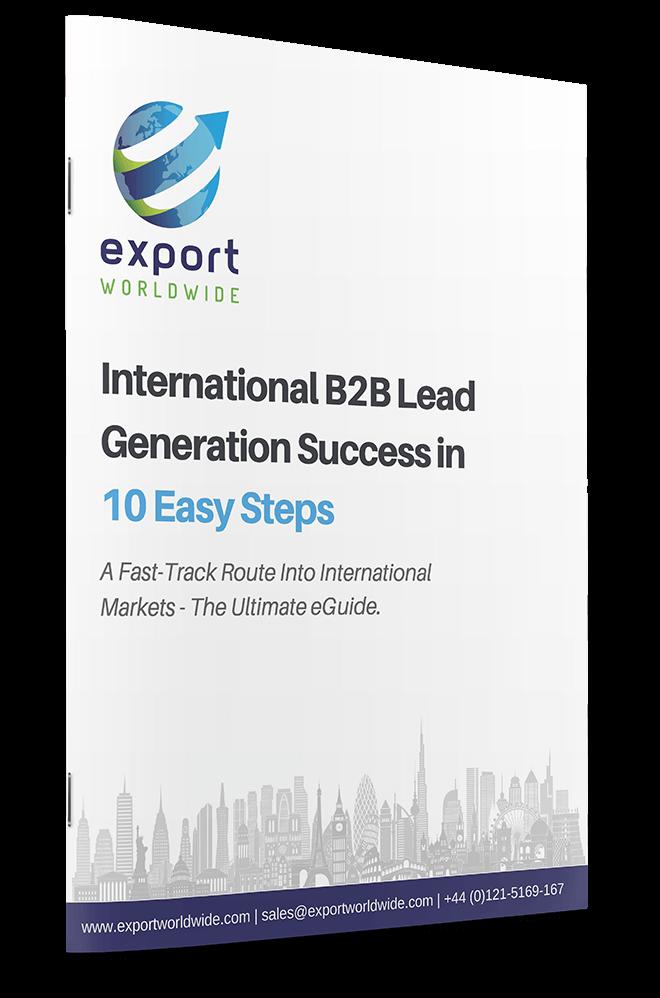 Free whitepaper: 10 Steps to International B2B Lead Generation Success