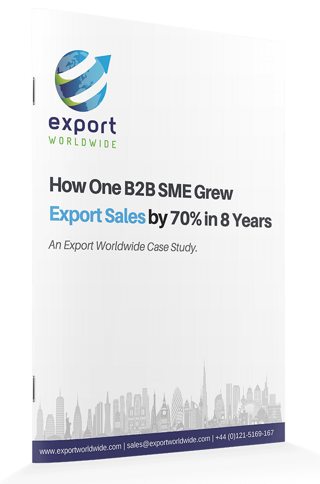 Free whitepaper: How One B2B SME Grew Export Sales by 70% in 8 Years