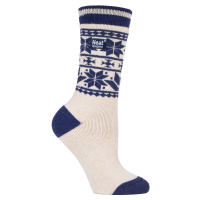 Mønstrede varme sokker fra producenten af termiske sokker.