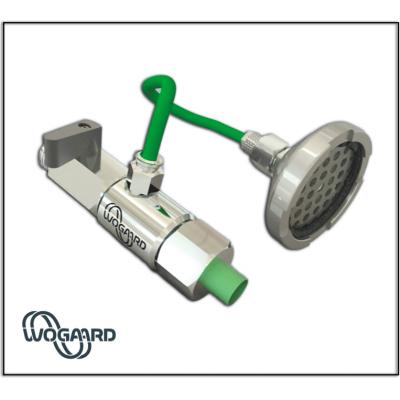 System til genanvendelse af skærehoved til skæring af olie fra Wogaard Ltd.