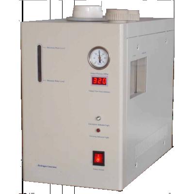 Apex-hydrogengenerator, der viser frontpanelet og kontrollerne