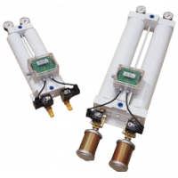 Maxi Air tørretumbler viser kolonner, måleinstrumenter og lyddæmpere