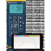 PV200 Solar PV Tester med IV-kurver på mobil