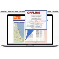 Airgoo online digital skiltningsløsning.