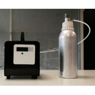 Aromatiser industriel luftfrisker med duftflaske.