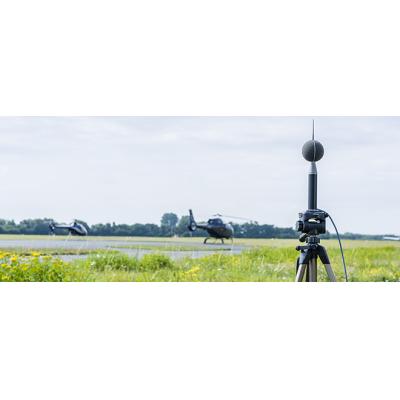 Støjmonitorer med overvågningssystemer