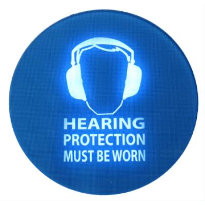 støj advarselsskilte