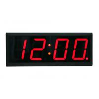 netværk digitale ur af forsiden af uret