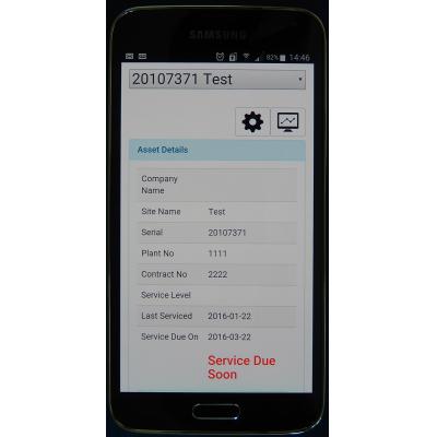 screenshot IoT Software