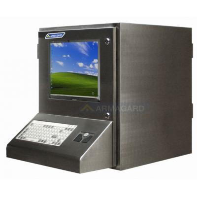 Armagard rustfrit stål PC kabinet