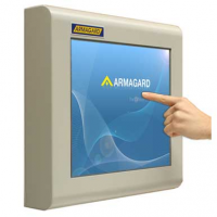industriel touchscreen monitor fra Armagard