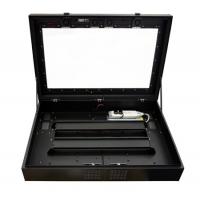 LCD kabinet døren åben intern visning af enhed