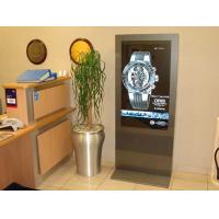 LCD digital skiltning i brug i en juvelerbutik