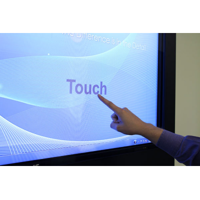 Armagard touchscreen digital skiltning