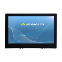 tv-skærm protektor visning af enheden front på