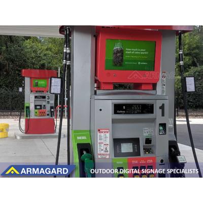 Den dobbeltsidede digitale pumpetopper, der vil blive udstillet på ISE Amsterdam.