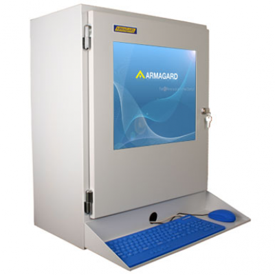 Industriel LCD-skærm kabinet