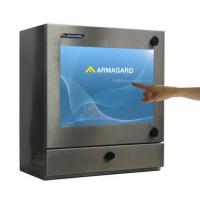 Vandtæt touch screen PC vigtigste billede