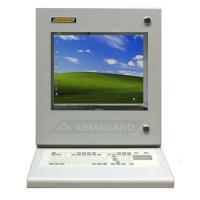industrielle pc kabinet med integreret tastatur