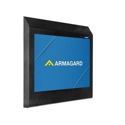Armagards anti-ligatur tv-kabinet beskytter et tv i højrisikoplaceringer.