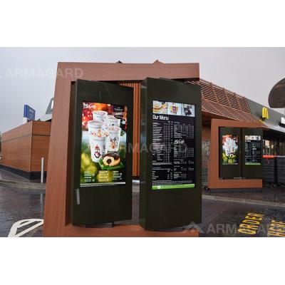 Armagard udendørs digital reklame