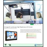 LCD-kabinet på ISE Barcelona og på ExportWorldwide.