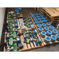 konstrueret ventil og aktuator