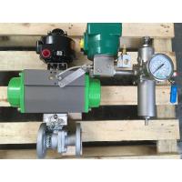 Konstrueret ventil - kugleventil med aktuator