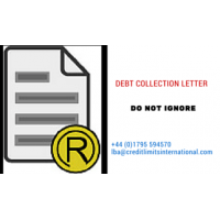 Carta de cobrança de dívida