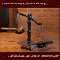 Europæisk tvangsfuldbyrdelsesdokument fra Credit Limits International Ltd