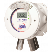 Titan, benzin fast gas detektoren
